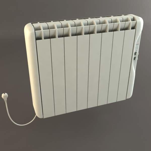 electric radiator 3d max