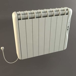electric radiator 3d max