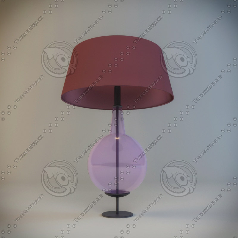 table lamp gaia bellavia 3d model