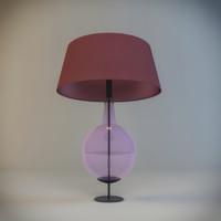 table lamp gaia bellavia 3d model