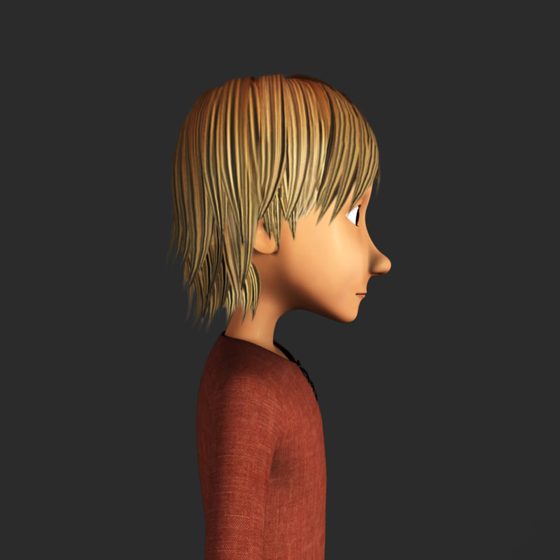 character male 3d model