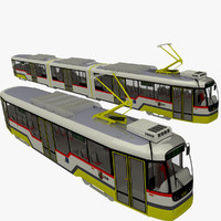 3d model czech trams variolf3