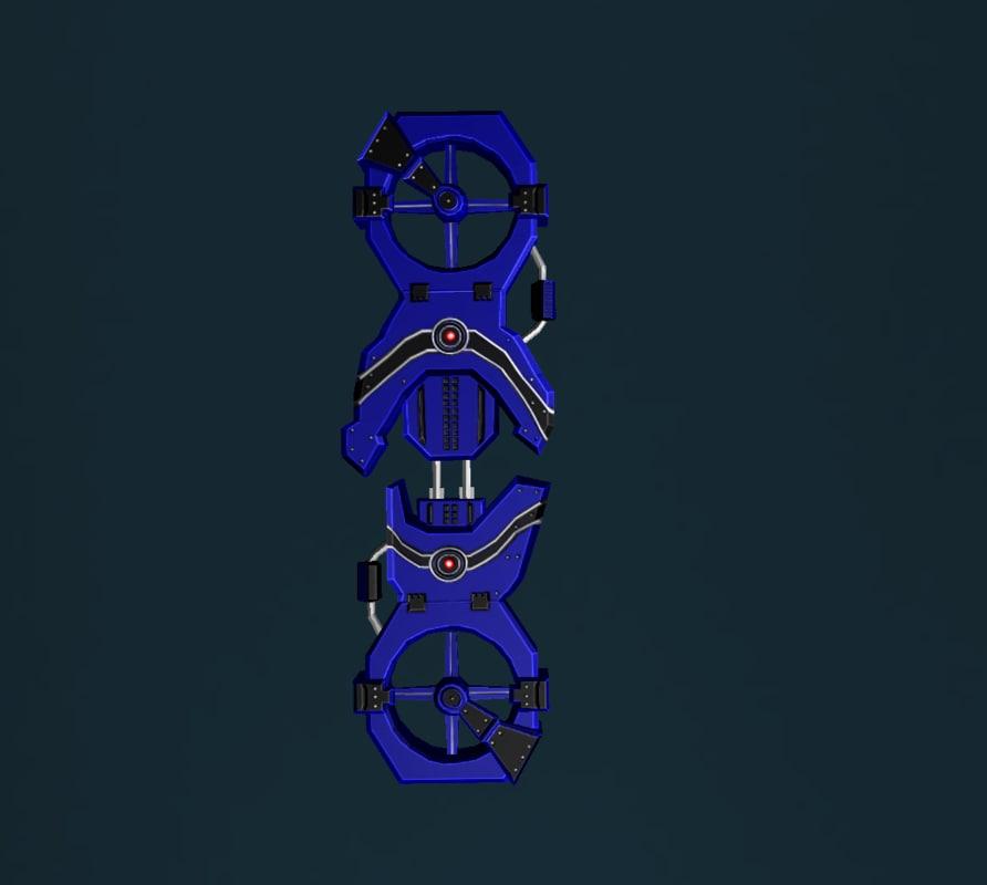 3d model air board