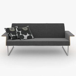photorealistic av3 sofa 3d c4d