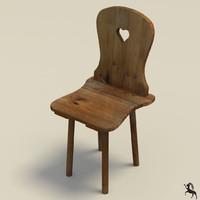 old farmer chair