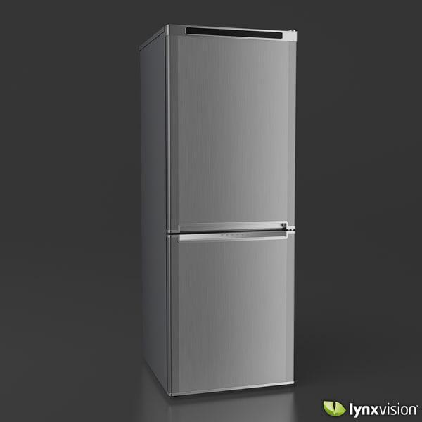 fbx double door refrigerator