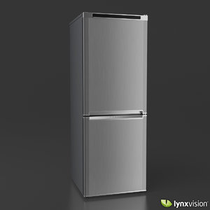 fbx double door refrigerator
