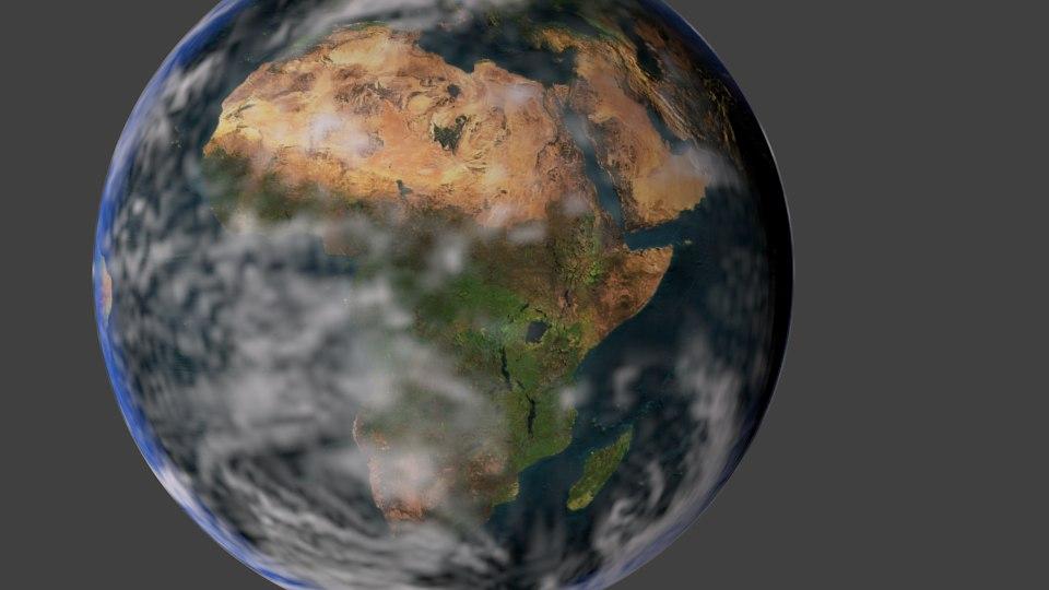 free earth 3d model
