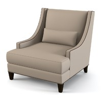 3d model gramercy chair