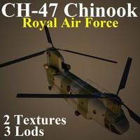 CH47 RAF