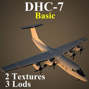 havilland basic 3d model