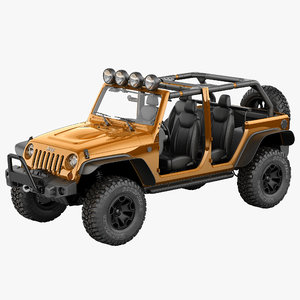 3d max jeep wrangler moab special