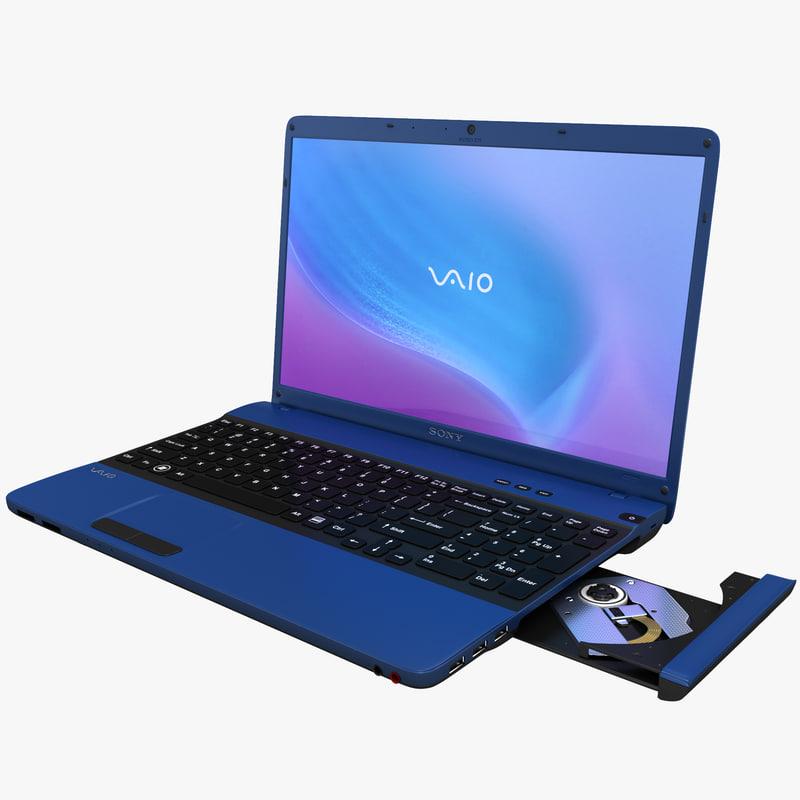 3d laptop sony vaio e model