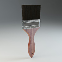 paint brush 3d model