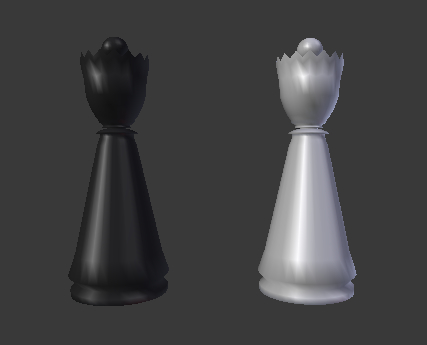 chess queen 3d model