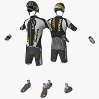 Racing Cyclist Clothes