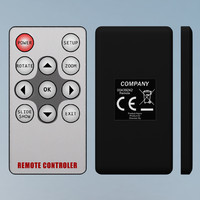 3d remote controller model