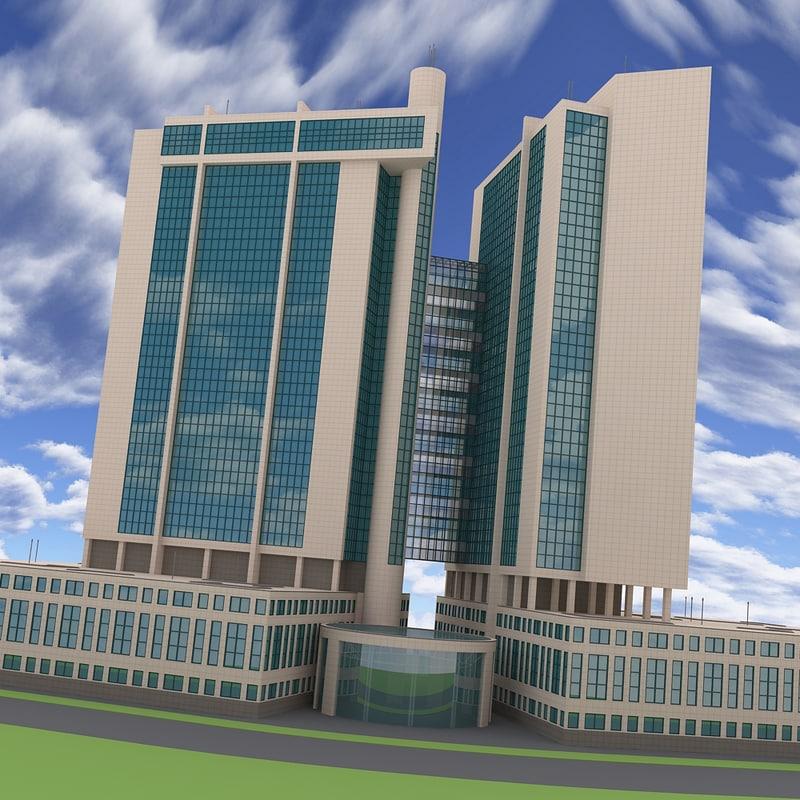 urban building obj