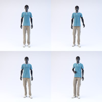 showroom mannequin male 03 3d max