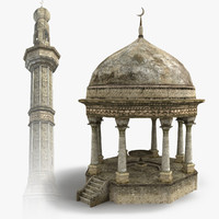 Minaret 3D Models for Download | TurboSquid