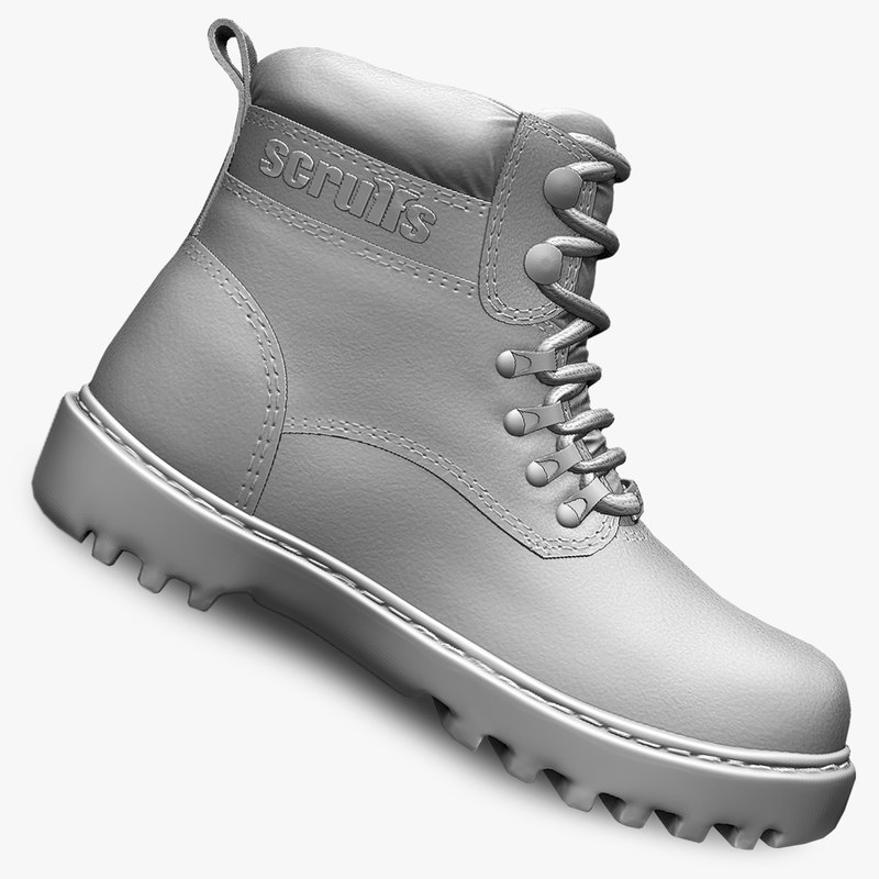 3ds max working boots