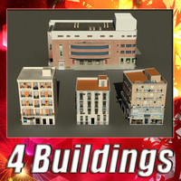 3d model building 13-16 collections