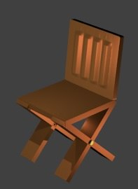 maya wooden chair