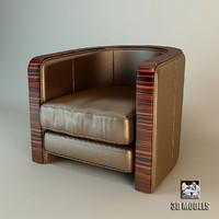 free max mode armchair dorothy ebano