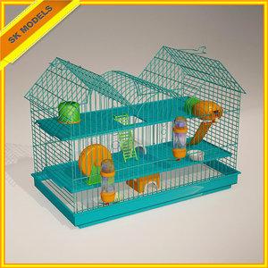 hamster cage obj