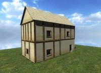 maya medieval house fantasy