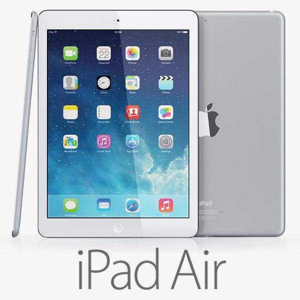 ipad air 3d model