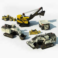 Heavy Mining Vehicles