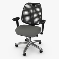 3d model reverb office armchair