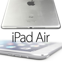 3d model apple ipad air details