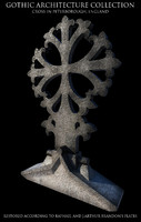 gothic cross peterborough 3d model