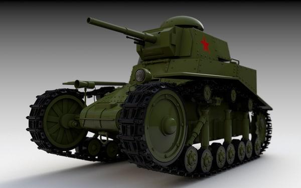 c4d t-18 light tank