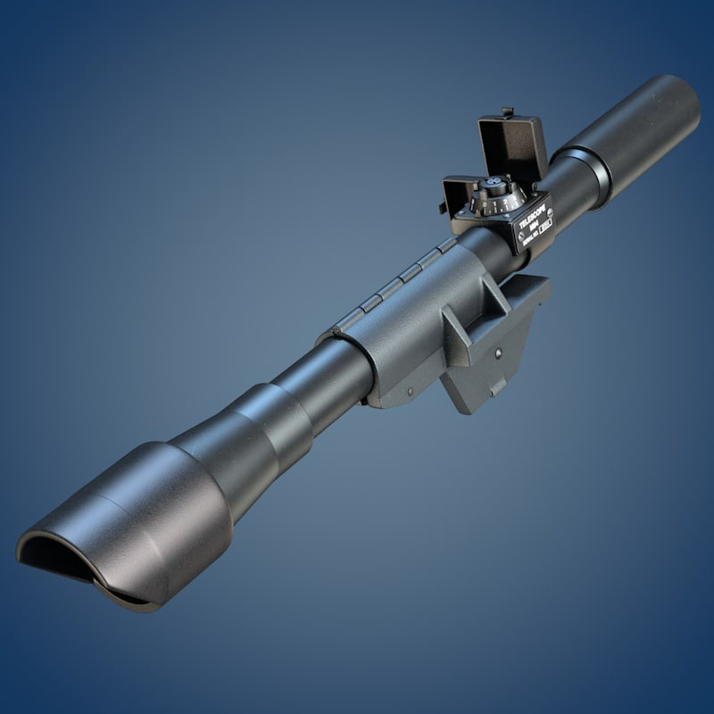 3d m84 scope rifle