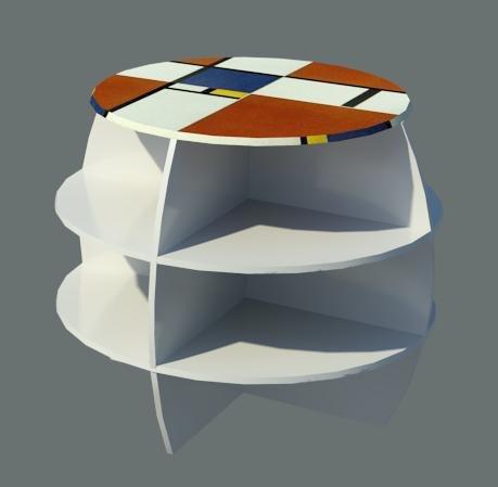 rfa spherical coffee table