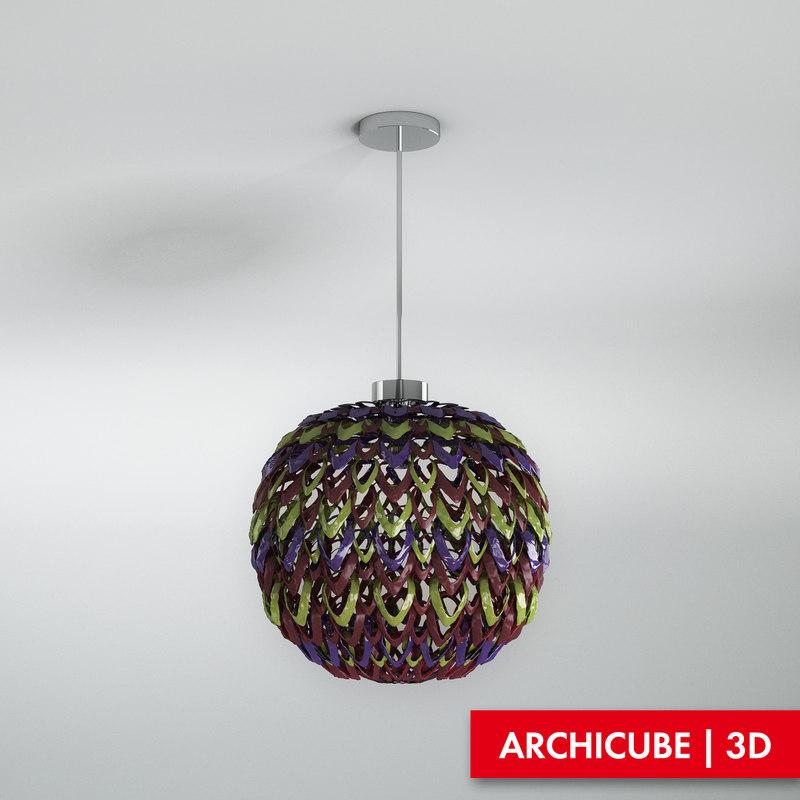 ceiling lamp 3d max