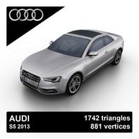 2013 audi s5 sports 3d model