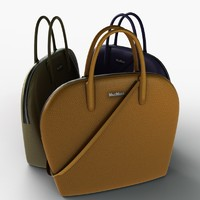 Hand Bag Low Poly 03