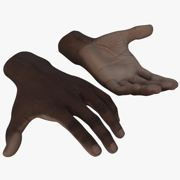 black male hand max