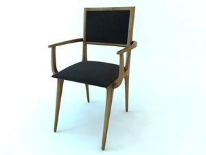 3d model chair gavea