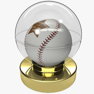 gift dad baseball ball 3d 3ds