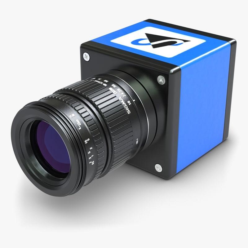 3d camera digital vision model