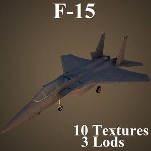 boeing fighter 3d model