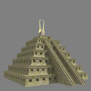 3d inca temple