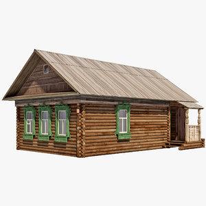 izba house 3d model