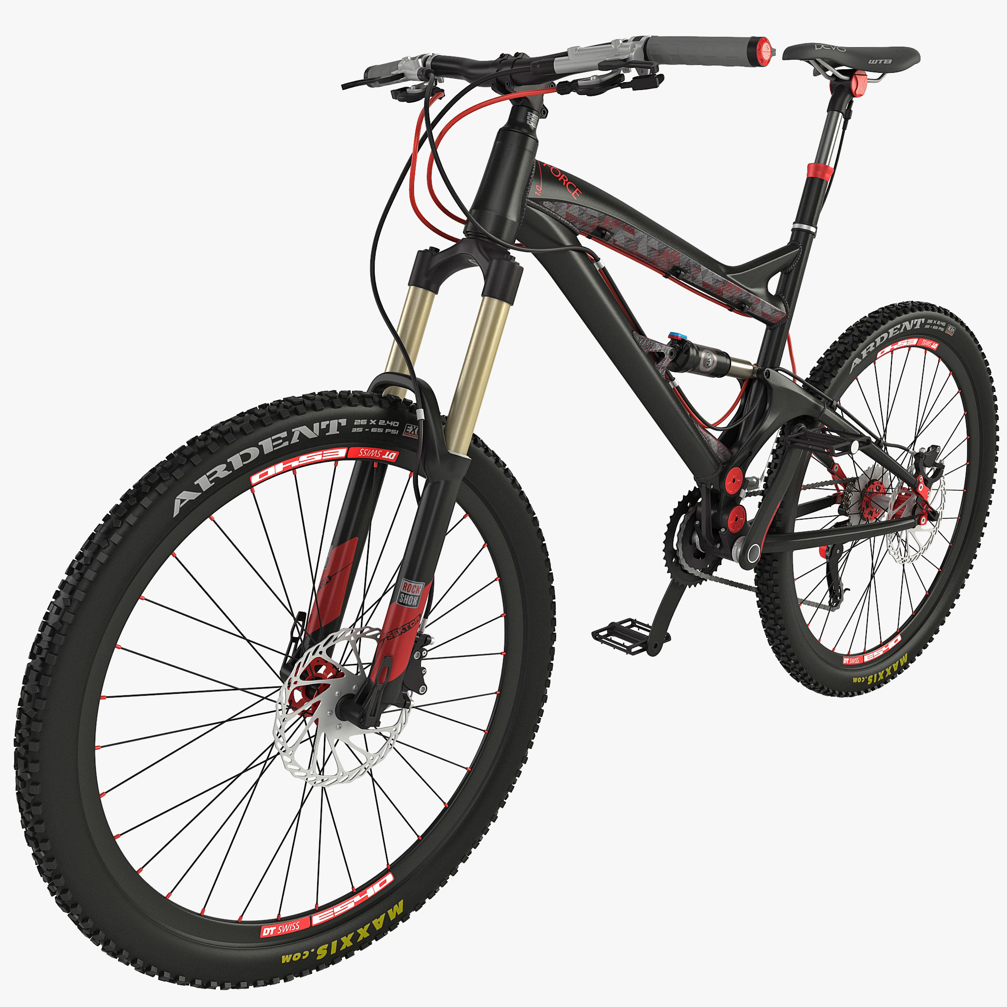 max mountain bike gt mtb