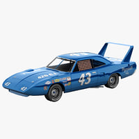 Nascar Car Plymouth Superbird